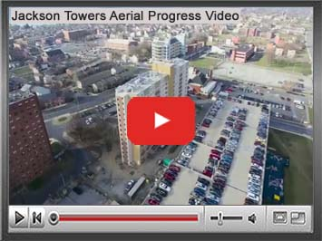 Jackson Tower Arial View Video