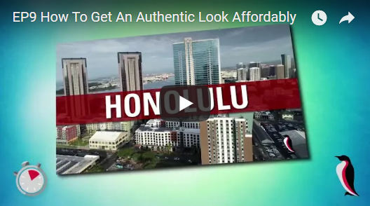 Ep9 How To Get An Authentic Look Affordably 1