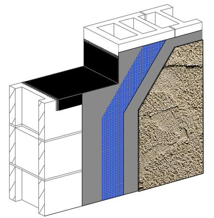 Dryvit us dryvit - Exterior concrete block finishes ...